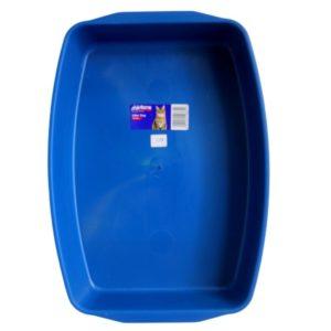 Blue Cat Litter Tray