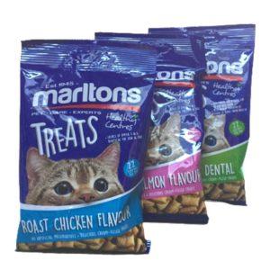 3 Packs of Marlton's Adult Cat Treats