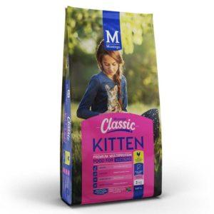 3kg Bag of Montego Classic Kitten Food