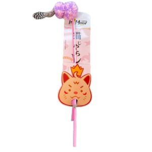 Its Meow Cat wand pink toy for cats and kittens